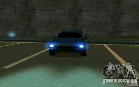 ГАЗ 24 Волга v2 (beta) для GTA San Andreas вид сзади