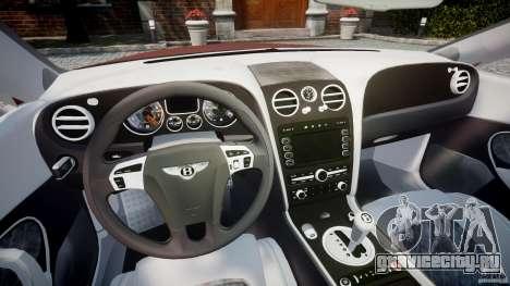 Bentley Continental SS v2.1 для GTA 4 вид сзади