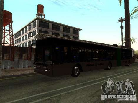 Троллейбус ЛАЗ E301 для GTA San Andreas вид слева