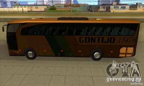 Mercedes-Benz Travego Gontijo для GTA San Andreas вид сзади слева