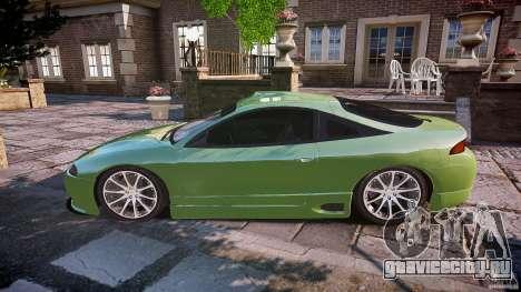 Mitsubishi Eclipse для GTA 4 вид слева