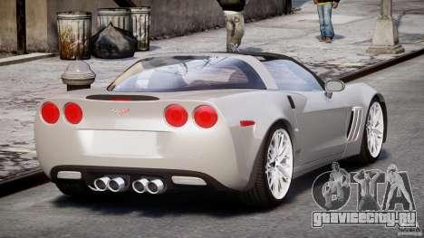 Chevrolet Corvette Grand Sport 2010 v2.0 для GTA 4 вид сбоку