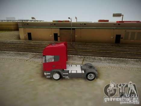 Scania R580 Topline для GTA San Andreas вид слева