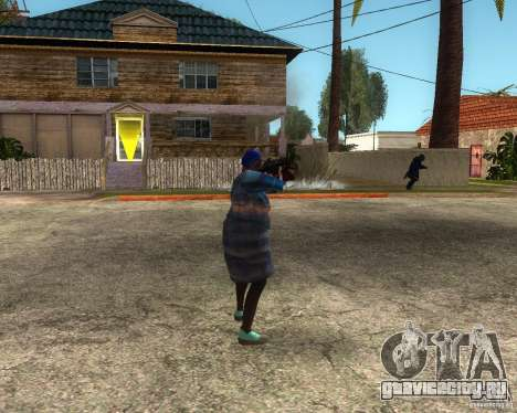 Gangsta Granny для GTA San Andreas второй скриншот