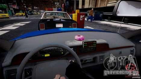 Chevrolet Caprice 1991 NYPD для GTA 4 вид сзади слева
