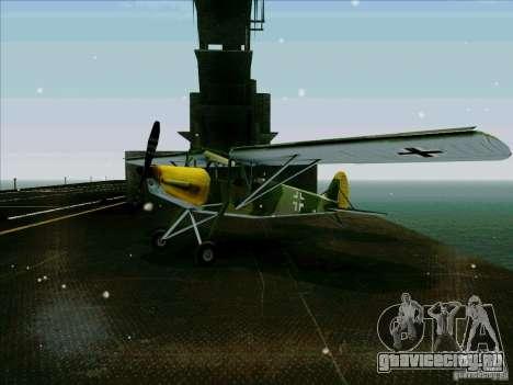 Fi-156 для GTA San Andreas