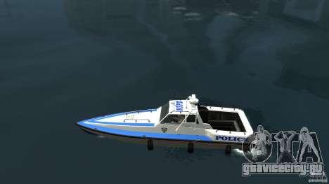 NYPD Predator для GTA 4 вид слева