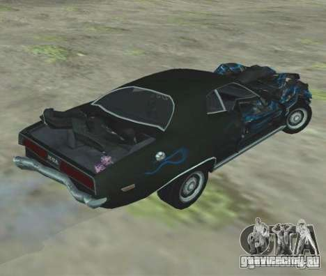 Bullet GT from FlatOut 2 для GTA San Andreas вид справа