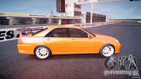 Toyota JZX110 для GTA 4 вид сбоку