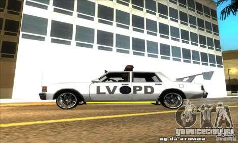 Police Hero v2.1 для GTA San Andreas вид слева