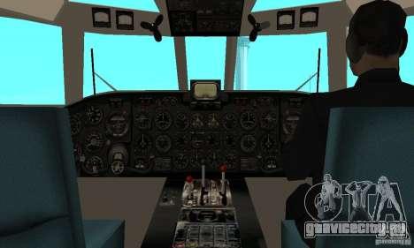 Ан-24 для GTA San Andreas вид справа
