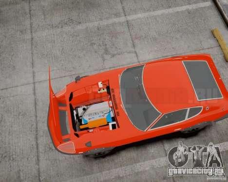 Nissan Fairlady Z HS30-240Z для GTA 4 вид сзади слева