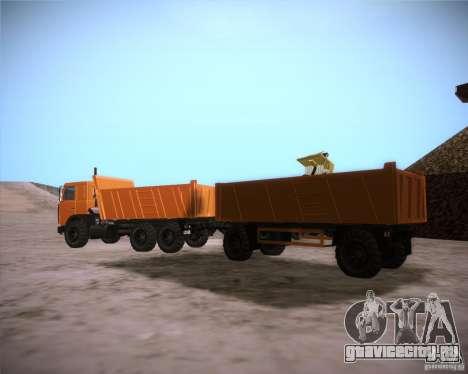 МАЗ 6317 для GTA San Andreas вид справа