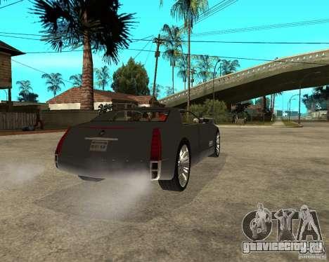 Cadillac Sixteen для GTA San Andreas вид сзади слева