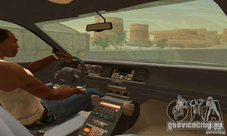 Ford Crown Victoria Rhode Island Police для GTA San Andreas вид сзади слева