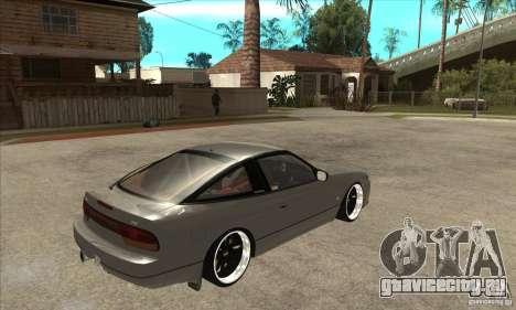 Nissan Silvia S15 1999 для GTA San Andreas вид справа