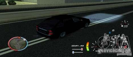 Уникальный спидометр для GTA San Andreas третий скриншот