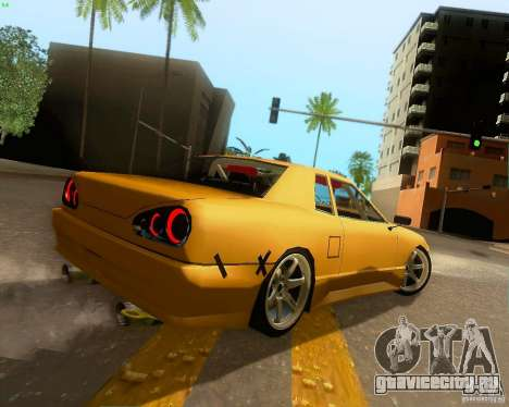 Elegy Drift Korch для GTA San Andreas вид сзади