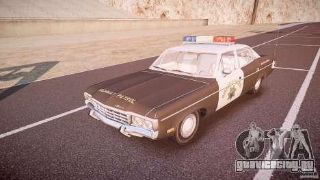 AMC Matador CHP [ELS] для GTA 4