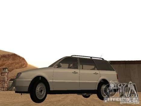 Volkswagen Passat B4 для GTA San Andreas вид справа