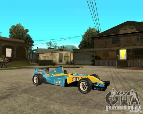 Renault F1 для GTA San Andreas вид справа