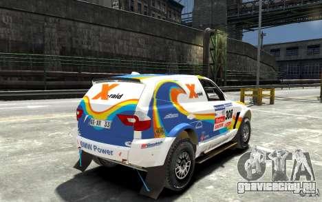 BMW X3 CC DAKAR для GTA 4 вид справа