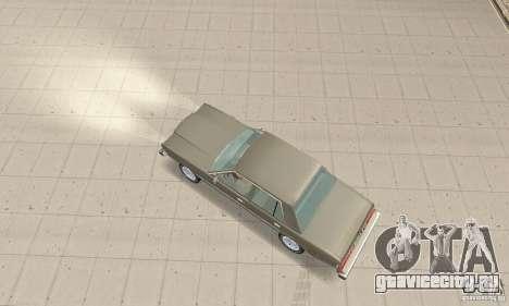 Dodge Diplomat 1985 v2.0 для GTA San Andreas вид сзади слева