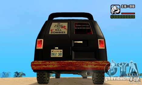 Blood Burrito для GTA San Andreas вид сзади слева