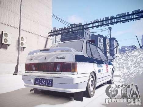 ВАЗ 2115 ДПС для GTA 4