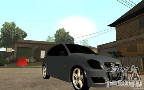 Chevrolet Celta VHC 2011 для GTA San Andreas вид сзади