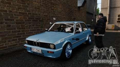 BMW E30 V8 Drift для GTA 4