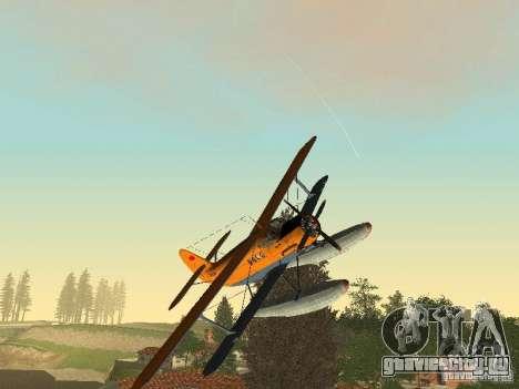 АН-2В для GTA San Andreas вид сзади
