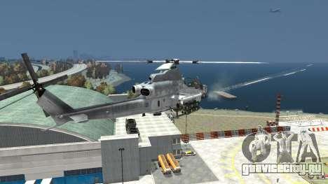 Bell AH-1Z Viper для GTA 4 вид сзади