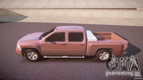 Chevrolet Silverado 1500 v1.3 2008 для GTA 4 вид слева