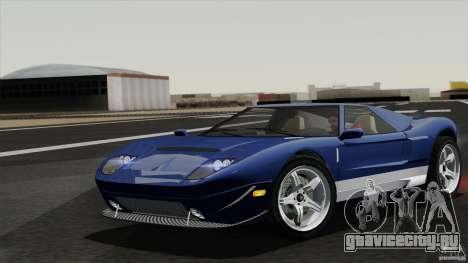 Bullet GT from TBOGT для GTA San Andreas вид сзади