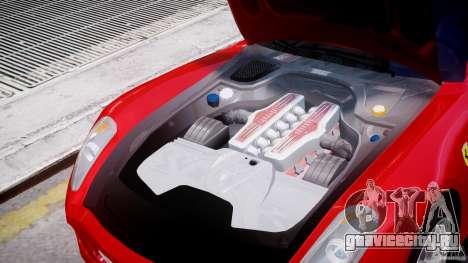 Ferrari 599 GTB Fiorano для GTA 4 вид сбоку
