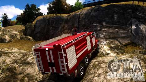 ЗИЛ 433474 Пожарный для GTA 4 вид слева