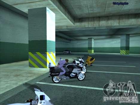 CopBike для GTA San Andreas вид сбоку