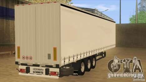 SchmitZ Cargobull для GTA San Andreas вид слева