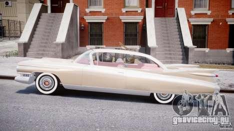 Cadillac Eldorado 1959 (Lowered) для GTA 4 вид слева