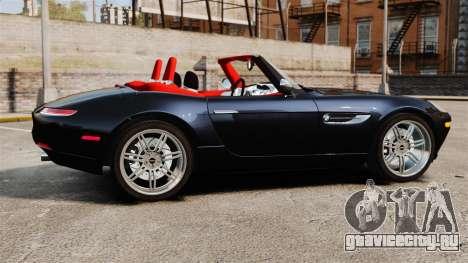 BMW Z8 2000 для GTA 4 вид слева