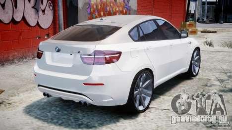 BMW X6M v1.0 для GTA 4 вид сверху