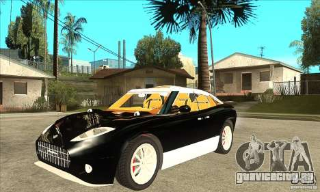 Spyker D8 Peking-to-Paris для GTA San Andreas