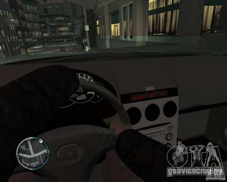 Mazda 3 Police для GTA 4 вид справа
