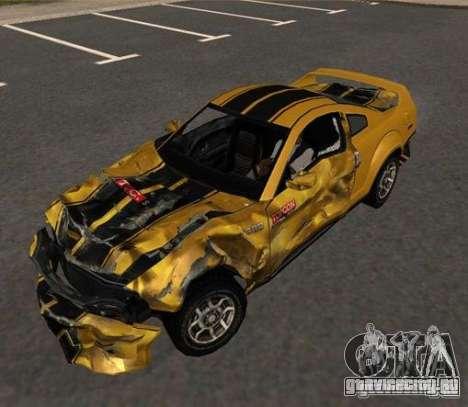 Road King from FlatOut 2 для GTA San Andreas вид сзади слева