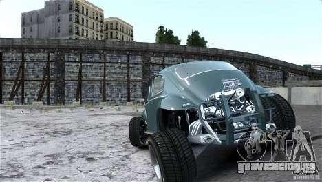 Baja Volkswagen Beetle V8 для GTA 4 вид изнутри