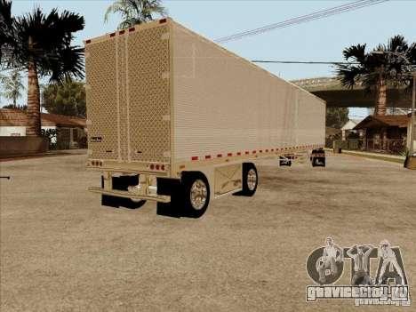 Прицеп к Peterbilt 379 Custom для GTA San Andreas вид справа