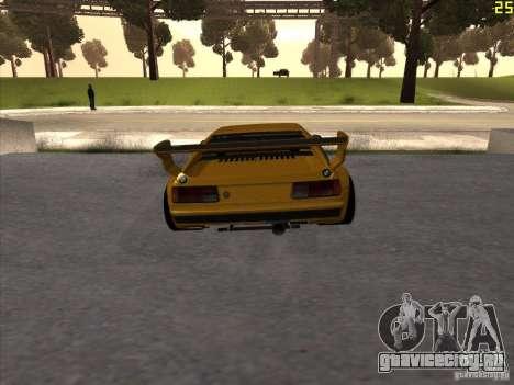 BMW M1 Procar для GTA San Andreas вид сзади слева