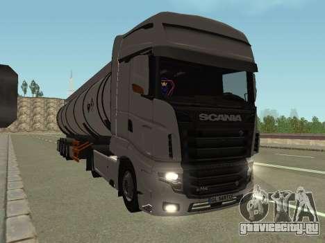 Scania R700 Euro 6 для GTA San Andreas вид сзади слева