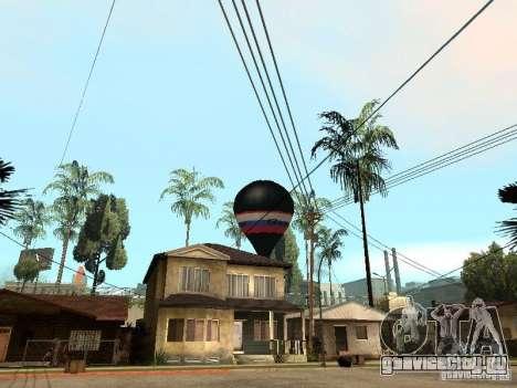 Воздушный шар Витязь для GTA San Andreas вид слева